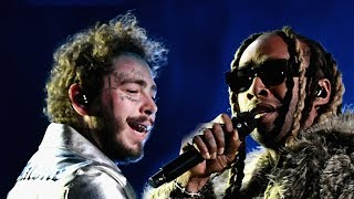 Post Malone Rocks NEW Haircut During 2018 AMA