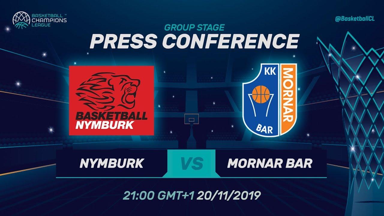 Champions League 2019 Calendrier.Era Nymburk V Mornar Bar Press Conference Basketball Champions League 2019