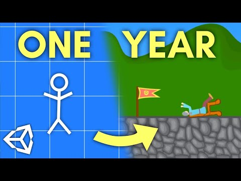 One Year Of Unity Game Development!