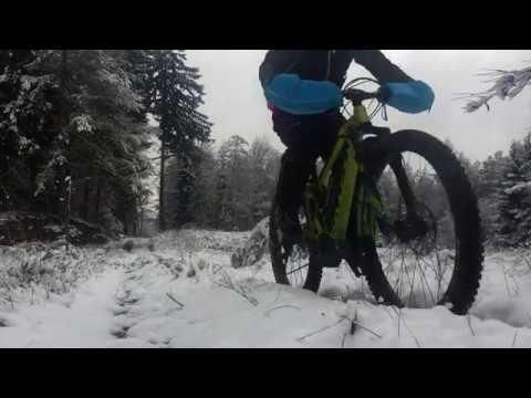 """Testbericht Bike-Pogies - E-Mountainbiken im Schnee """"warm"""" gemacht!"""