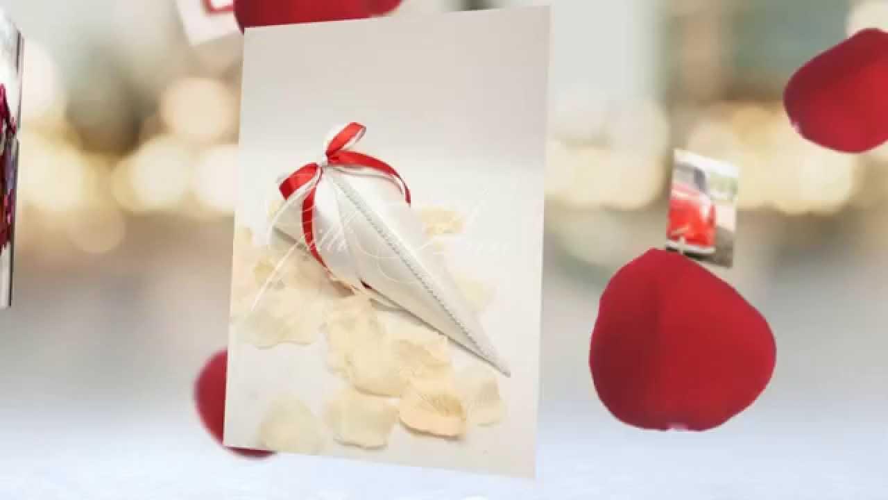 Свадебный кулечек для лепестков роз Gilliann COS041 - YouTube