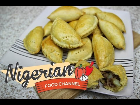 HOW TO MAKE NIGERIAN MEAT PIE | Nigerian Food Recipes