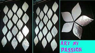 foil wall art, foil DIY wall art/wall hanging/wall decor/diy wall art,paper craft,art my passion 36