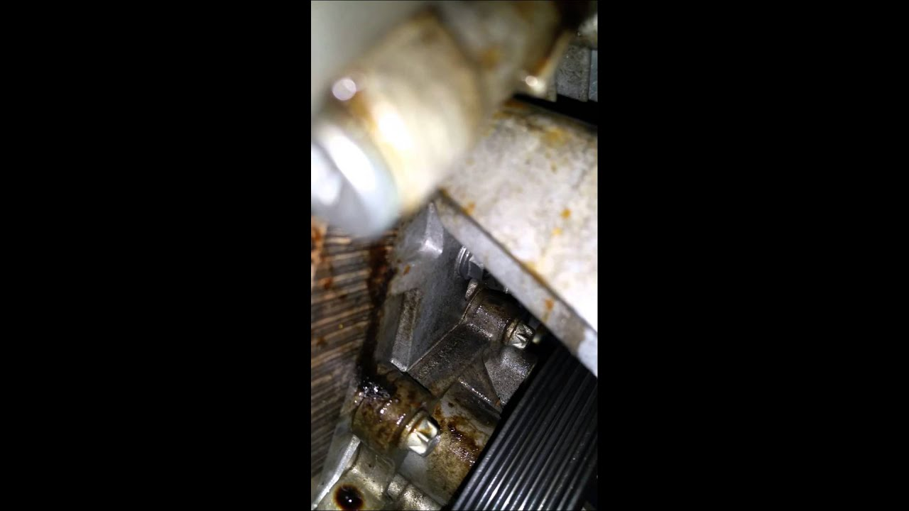 cruze oil leak youtube