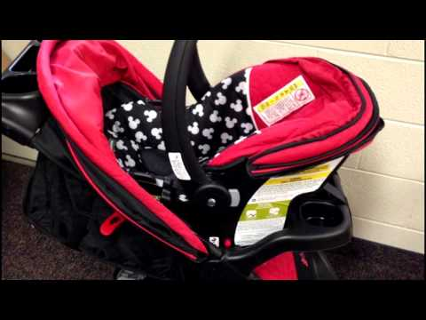 Review Disney Baby Amble Quad Travel System Baby