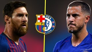 Eden Hazard VS Lionel Messi - Who Is The Best Nowadays? - Amazing Goals & Dribbling Skills - 2018