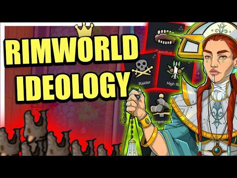 Cannibal Rat Cult - Rimworld Ideology #1 |