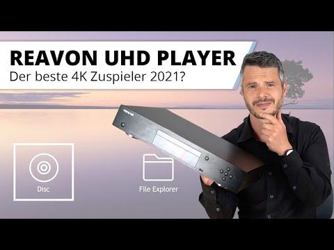 REAVON UBR-X100 und X200 - neue, hochwertige UHD Bluray Player in 2021