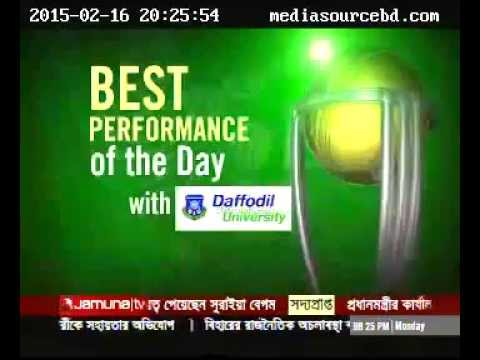 'Best Performance of the Day' of ICC World Cup 2015 (PR Stirling, Ireland) 16.02.15