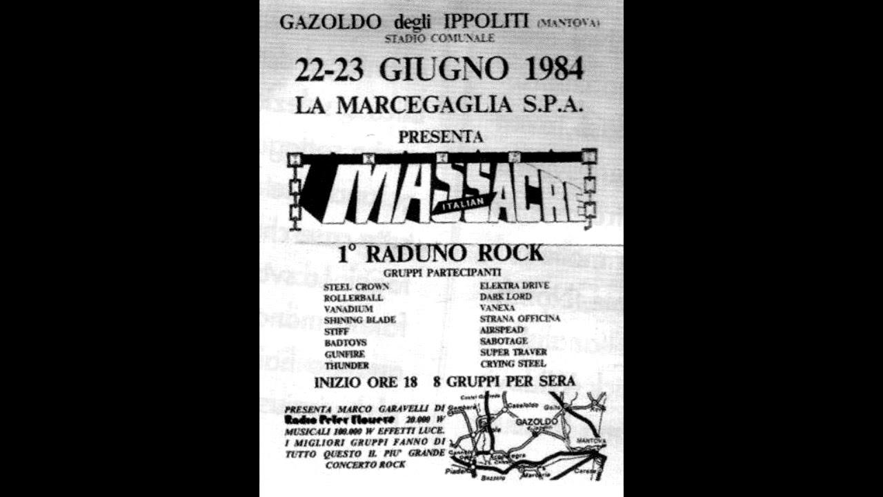 Crying Steel - Live at Italian Massacre Festival 23/06/1984 (Full Concert)