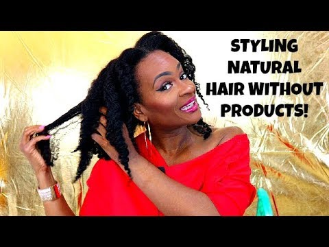 how to style your hair without product how to style your hair without products 4152