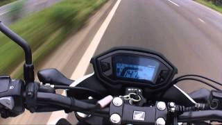 CB500F - Top speed + pau na BMW 320 i