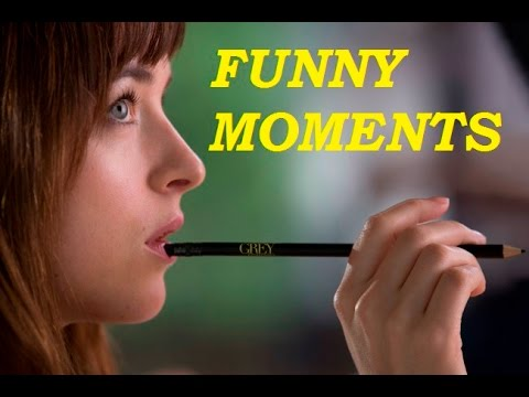 Fifty Shades of Grey funny moments