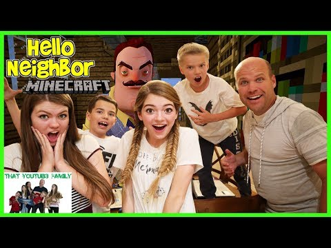 Hello Neighbor In Minecraft / That YouTub3 Family thumbnail