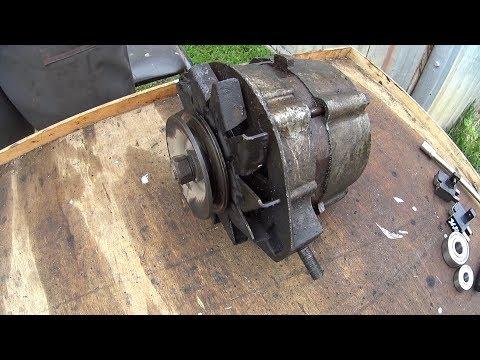 Ремонт генератора ваз 2101 своими руками видео