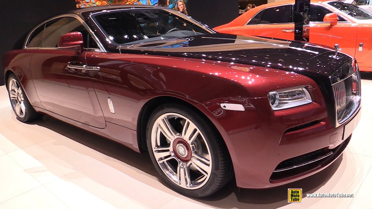 2015 rolls royce wraith exterior and interior walkaround. Black Bedroom Furniture Sets. Home Design Ideas