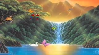Paradise Falls Screensaver
