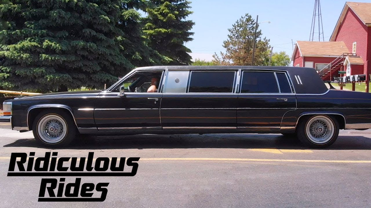 Inside Trump's 'World's Most Luxurious Limo' | RIDICULOUS RIDES - YouTube