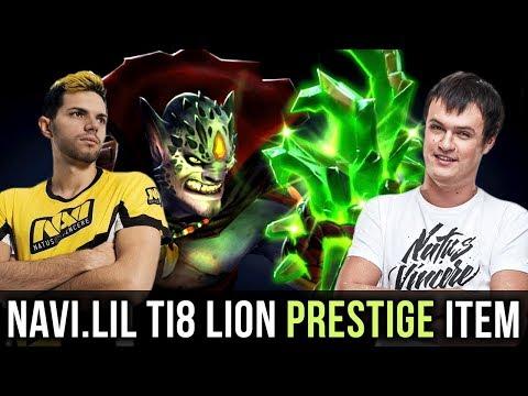 Lil Trying New Prestige Item Lion 255 Level Compendium Dota 2