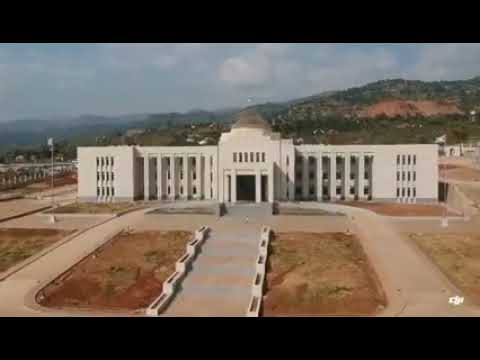 The future presidential palace of Burundi under construction