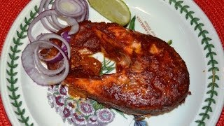 Tandoori Salmon Fish