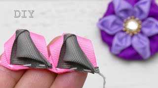Amazing Ribbon flower Do it Yourself