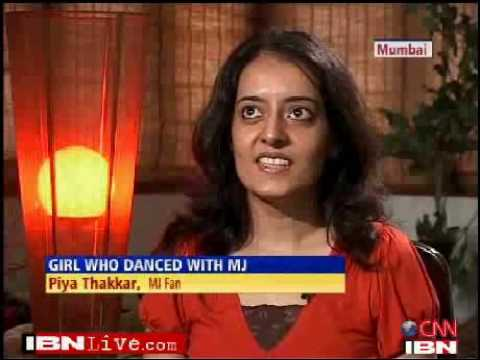 Mumbai girl talks about her dance with Michael Jackson