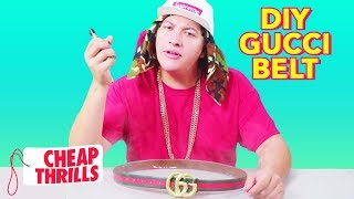 D.I.Y. Gucci Belt | Cheap Thrills