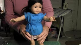 """No-sew T-shirt For American Girl Doll (18"""" Doll)"""