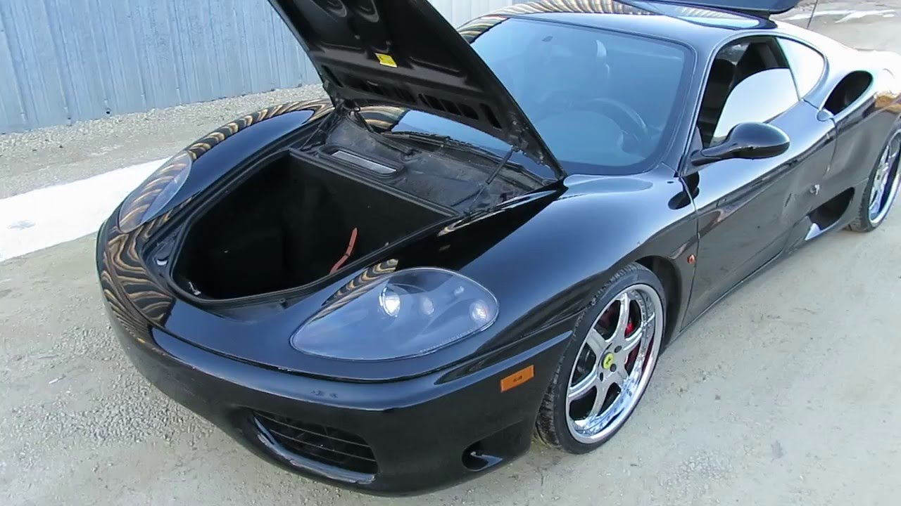Salvage Repairable 1999 Ferrari 360 F1 3 6 Youtube