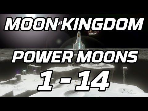 [Super Mario Odyssey] Moon Kingdom Power Moons 1 - 14 Guide
