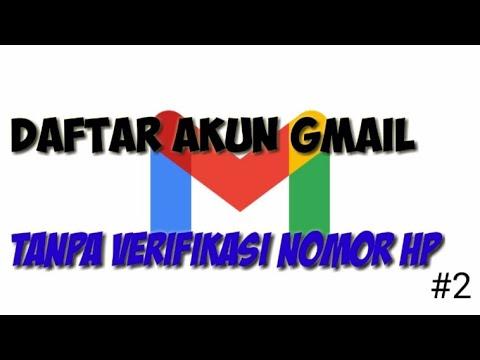 Cara Buat Akun Gmail Tanpa Verifikasi Nomor Hp 2 Youtube