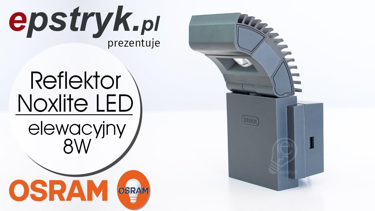 OSRAM Reflektor NOXLITE LED SPOT 8W - wideoprezentacja