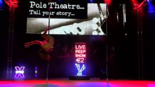 Tiffany Finney - Classique - Pro - Pole Theatre UK 2014