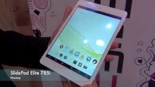 Tablette Memup SlidePad Elite 785i - presentation FR