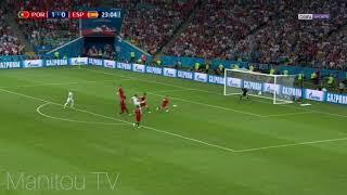 Coupe du Monde Portugal - Espagne 3-3 tous les buts commentaire bein sport