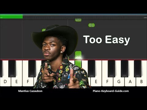 How to Play Old Town Road by Lil Nas X – Slow Very Easy Piano Tutorial