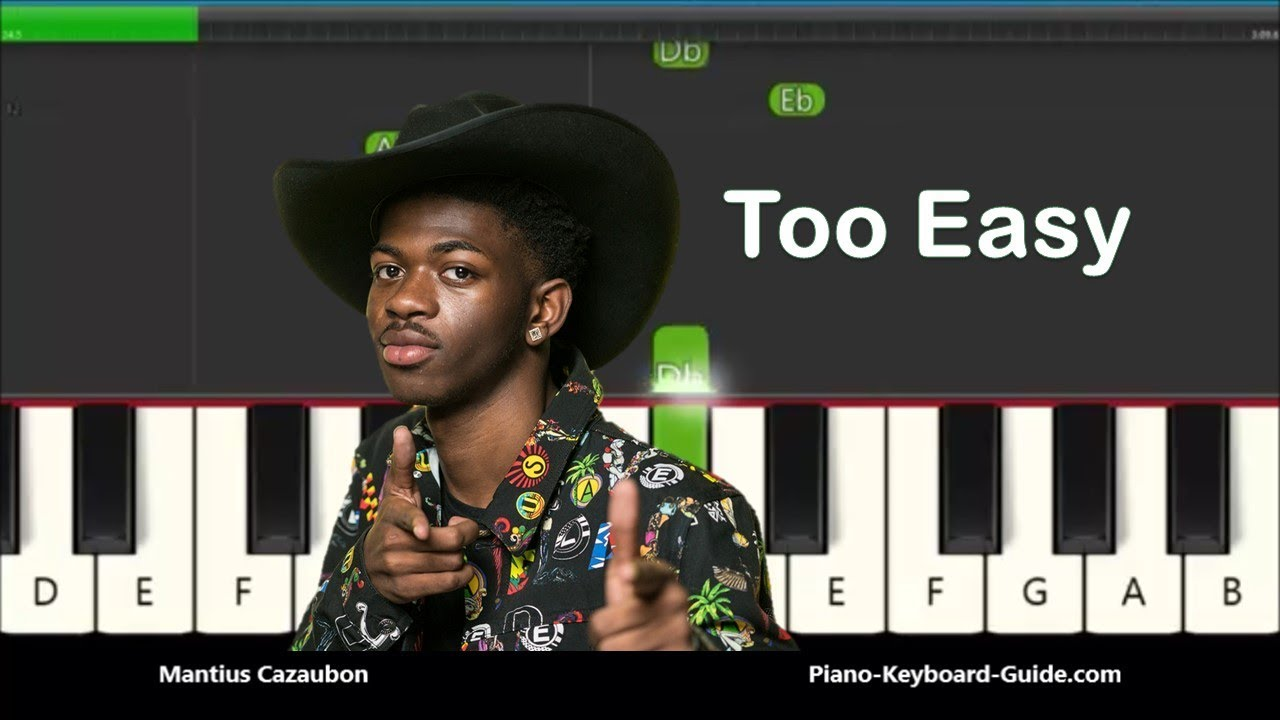 How To Play Old Town Road By Lil Nas X Slow Very Easy Piano