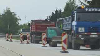 Besipky - Oprava dálnice
