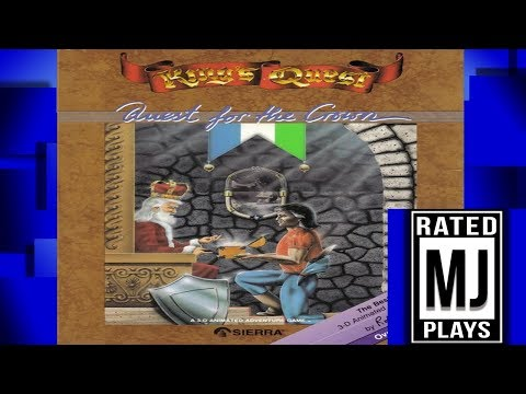 King's Quest Part 1: On a Quest For The Crown! - MJPlays