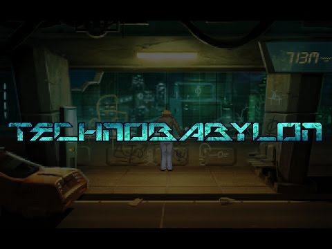 Technobabylon Gameplay Part 2 ~ Animus Organics ~ Blind Lets Play Walkthrough Longplay