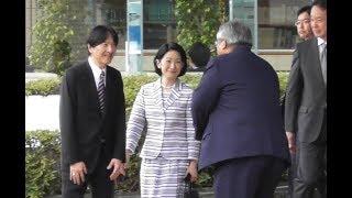 笑顔の秋篠宮殿下ご夫妻  海フェスタご臨席のため静岡へ thumbnail