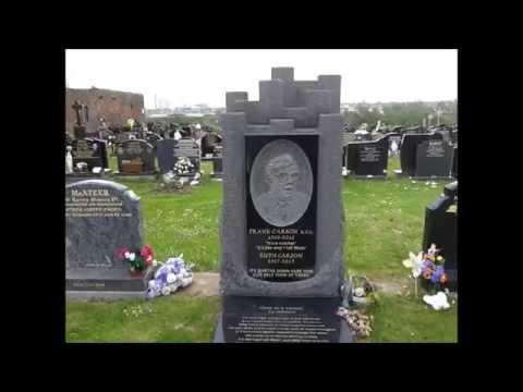 FRANK CARSON'S GRAVE Milltown Cemetery my tribute