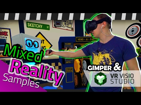 Mixed Reality Samples from VR VISIO STUDIO (2016)