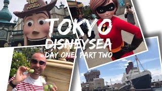 Tokyo Disneysea Vlog - May 2017 - Day 1 Part 2 - Tokyo Disneysea Part 2 (including Alien Dumplings!)