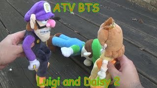 atv bts luigi and daisy 2 super mario plush adventures