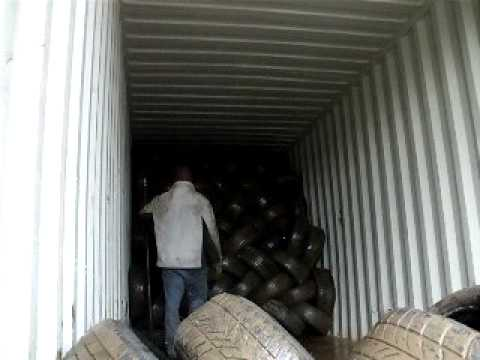 M Tires Inc Loading Container Youtube