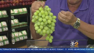 Tip Of The Day: Green Thompson Seedless Grapes