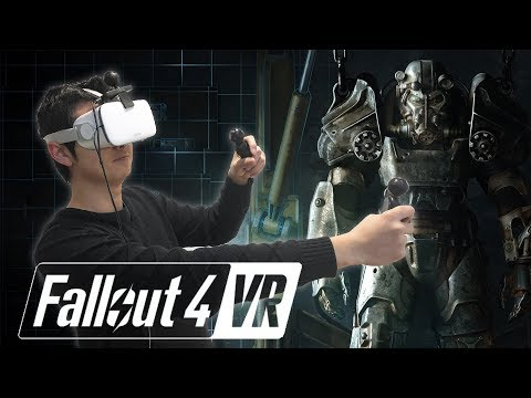 Play Fallout 4 VR with Smartphone - NOLO VR Demonstration