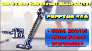 PUPPYOO 536 beutel- und kabelloser Staubsauger - Die besten kabellosen Staubsauger